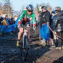 2019-12-27 Cycling: dvv verzekeringen trofee: Loenhout: italian national champion Eva Lechner