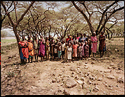Samburu Villagers, Kenya, July, 2002