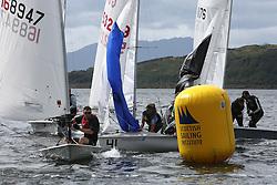 Peelport Clydeport Largs Regatta Week 2013 <br /> <br /> Scottish Sailing Institute Marks Dinghy Fleet