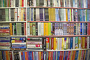 Asian newsagent and bookshop, Brick Lane, East End, London, England