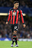 Joshua King of Bournemouth looks on. Barclays Premier league match, Chelsea v AFC Bournemouth at Stamford Bridge in London on Saturday 5th December 2015.<br /> pic by John Patrick Fletcher, Andrew Orchard sports photography.
