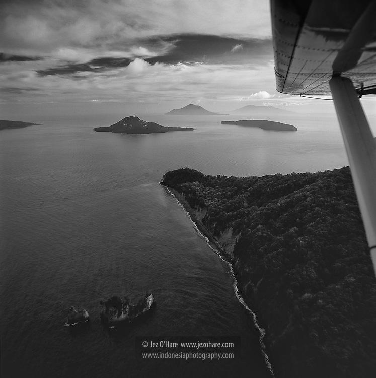 Krakatau, Sunda Straits, Lampung, Sumatra, Indonesia.