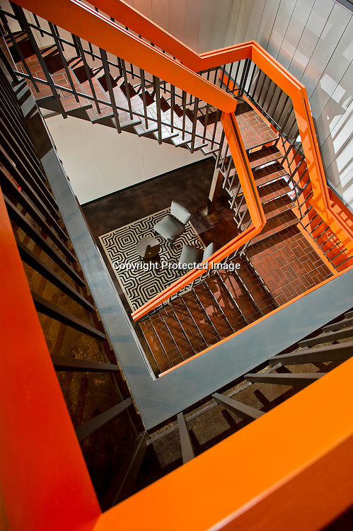 Editorial photography of the interior of Acumen Brands in Fayetteville, Arkansas for a magazine feature of the company.
