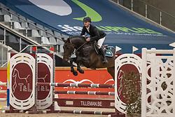 Kenis Pieter, BEL, Riesling van de Gaathoeve<br /> Pavo Hengsten competitie - Oudsbergen 2021<br /> © Hippo Foto - Dirk Caremans<br />  22/02/2021