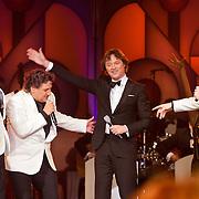NLD/Hilversum/20120205 - Concert tbv Stichting DON, optreden Rene Froger, Jeroen van der Boom, Frits Sissing en Sonny's Inc.