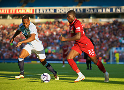 BLACKBURN, ENGLAND - Thursday, July 19, 2018: Liverpool's Sheyi Ojo during a preseason friendly match between Blackburn Rovers FC and Liverpool FC at Ewood Park. (Pic by David Rawcliffe/Propaganda)
