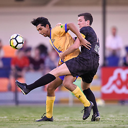 BRISBANE, AUSTRALIA - JANUARY 10:  during the Kappa Silver Boot Group C match between Brisbane Knights and Centenary Stormers on January 10, 2018 in Brisbane, Australia. (Photo by Patrick Kearney)