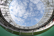 a General view of inside the London Stadium before k/o. UEFA Europa league, 3rd qualifying round match, 2nd leg, West Ham Utd v NK Domzale at the London Stadium, Queen Elizabeth Olympic Park in London on Thursday 4th August 2016.<br /> pic by John Patrick Fletcher, Andrew Orchard sports photography.