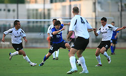 Etien Velikonja of Gorica during 2nd match of 1st round Intertoto Cup soccer match between ND Gorica and Hibernians FC at Sports park, on June 28,2008, in Nova Gorica, Slovenia. (Photo by Vid Ponikvar / Sportal Images)