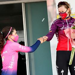 14-03-2021: Wielrennen: GP Oetingen: Oetingen: Elisa Balsamo: Jolien D'hoore