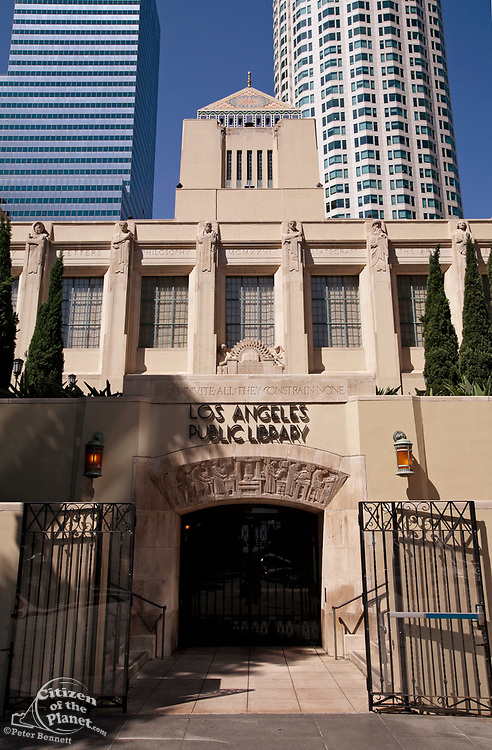 Central Library, Downtown Los Angeles, California