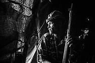 Lesiran Orguba, husband of Mureya Orguba. Location: Rungubo Sahado.