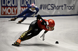 February 8, 2019 - Torino, Italia - Foto LaPresse/Nicolò Campo .8/02/2019 Torino (Italia) .Sport.ISU World Cup Short Track Torino - Mixed Gender Relay Heats.Nella foto: Ziwei Ren..Photo LaPresse/Nicolò Campo .February 8, 2019 Turin (Italy) .Sport.ISU World Cup Short Track Turin - Mixed Gender Relay Heats .In the picture: Ziwei Ren (Credit Image: © Nicolò Campo/Lapresse via ZUMA Press)