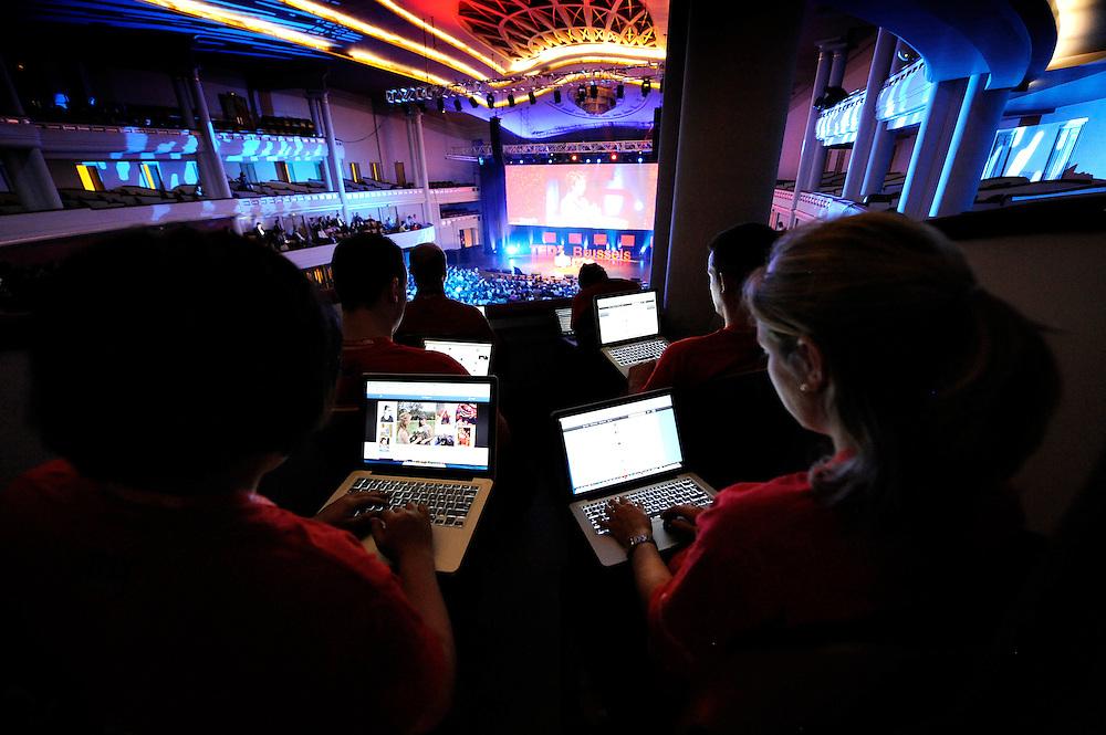 Session I - 28 October 2013<br /> <br /> TEDX BRUSSELS 2013 - Belgium - Brussels - October 2013 © TEDx Brussels/Scorpix