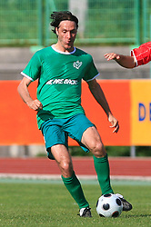 Miran Pavlin of Olimpija at final match of 2nd SNL league between NK Olimpija in NK Aluminij, on May 23, 2009, ZAK, Ljubljana, Slovenia. Aluminij won 2:1. NK Olimpija is a Champion of 2nd SNL and thus qualified to 1st Slovenian football league for season 2009/2010. (Photo by Vid Ponikvar / Sportida)