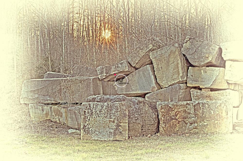 Woolery Mill Quarry Stones Limestone