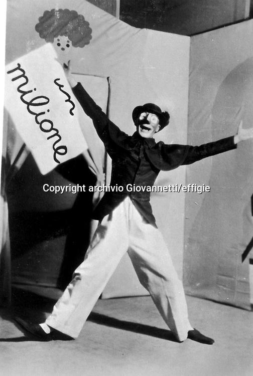 Sergio Tofano<br />1927<br />archivio Giovannetti/effigie