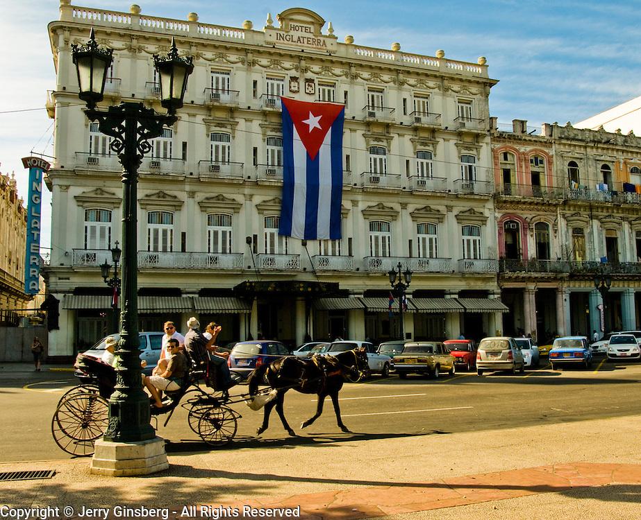 Famed Hotel Inglaterra in Central Havana, Havana Centro, Habana Centro, Centro Habana, Cuba.