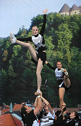 Panthers, Germany during Mixed senior at second day of European Cheerleading Championship 2008, on July 6, 2008, in Arena Tivoli, Ljubljana, Slovenia. (Photo by Vid Ponikvar / Sportal Images).