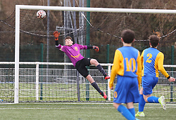 07 March 2020. Marck, Pas de Calais, France.<br /> US Montreuil U14 v Marck.<br /> Montreuil a perdu 0-4<br /> Photo©; Charlie Varley/varleypix.com