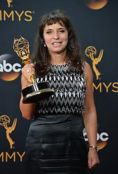 Susanne Bier  im Press Room bei der Verleihung der 68. Primetime Emmy Awards in Los Angeles / 180916<br /> <br /> *** 68th Primetime Emmy Awards in Los Angeles, California on September 18th, 2016***