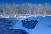 Rainbow Falls on White Lake<br /> Whiteshell Provincial Park<br /> Manitoba<br /> Canada