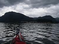Crossing Sognefjorden by kayak