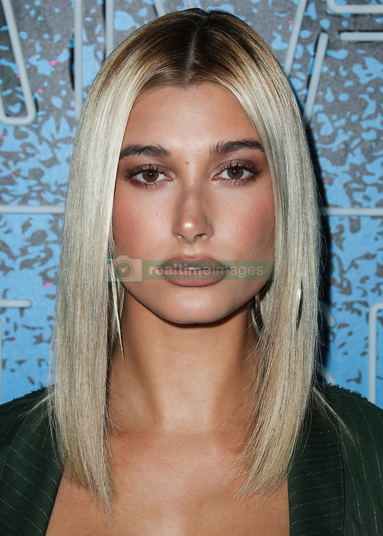 Hailey Baldwin arrives at Apple Music's 'Carpool Karaoke: The Series' Launch Party held at Chateau Marmont on August 7, 2017 in West Hollywood, California. 07 Aug 2017 Pictured: Hailey Baldwin. Photo credit: IPA/MEGA TheMegaAgency.com +1 888 505 6342
