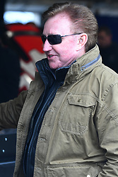 February 23, 2019 - Hampton, GA, U.S. - HAMPTON, GA - FEBRUARY 23: Richard Childress, owner of Richard Childress Racing (RCR) talks to one of his drivers during practice for the Monster Energy Cup Series QuikTrip Folds of Honor 500 on February 23, 2019, at Atlanta Motor Speedway in Hampton, GA.(Photo by Jeffrey Vest/Icon Sportswire) (Credit Image: © Jeffrey Vest/Icon SMI via ZUMA Press)