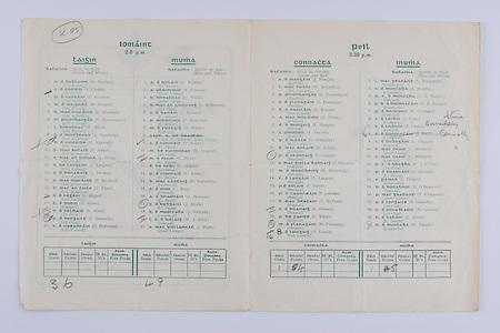 Interprovincial Railway Cup Football Cup Final,  17.03.1951, 03.17.1951, 17th March 1951, Connacht 1-09, Munster 1-08, Connacht Football Team, J Mangan, W McQuillan, P Prendergast, S Flanagan, E Boland, H Dixon, E Mongey, S Purcell, G O'Malley, E Keogh, P Carney, J Gilvarry, M Mulderrig, T Langan, P Solan, P Quinlan, T McVann, S Dooney, P White, M Flanagan, T Lynch, Munster Football Team, L Fitzgerald, J Murphy, P B Brosnan, P O'Driscoll, J Lyne, S Cronin, J Brosnan, C Duggan, T McGrath, C McGrath, P J O'Dea, P Brennan, J Palmer, D O'Donovan, P Fitzgerald, S Connolly, N Crowley, T Keane, D Murphy,.Interprovincial Railway Cup Hurling Cup Final,  17.03.1951, 03.17.1951, 17th March 1951, Leinster 3-06, Munster 4-09, Leinster Hurling Team, R Dowling, S Cronin, P Hayden, M Marnell, R Rackard, M Prendergast, W Walsh, J Morrissey, D Kennedy, P Kehoe, J Prior, J Downey, N Rackard, T Flood, J Hogan, N Allen, P Donnelly, J Heffernan, Munster Hurling Team, A Reddan, A Fleming, D Walsh, D McInerney, J Bannon, P Stakelum, M Fuohy, S Kenny, M Nugent, M Ryan, E Stokes, P Kenny, D McCarthy, C Ring, A Brennan, J Doyle, J Mulcahy, W J Daly, J Forde