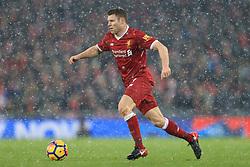10th December 2017 - Premier League - Liverpool v Everton - James Milner of Liverpool - Photo: Simon Stacpoole / Offside.