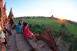 Sunset View From Bagan Temple