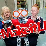 20.10.17.            <br /> Enjoying the LIT (Limerick School of Technology) open day were, Rachel O'Mahony and Molly Curtin, Salesians Secondary School. Picture: Alan Place