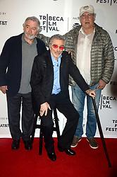 April 22, 2017 - New York, New York, USA - Robert De Niro, Burt Reynolds und Chevy Chase bei der Premiere von 'Dog Years' auf dem Tribeca Film Festival 2017 im Cinépolis Chelsea. New York, 22.04.2017 (Credit Image: © Future-Image via ZUMA Press)