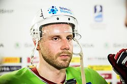 Jan Mursak of Slovenia after the 2017 IIHF Men's World Championship group B Ice hockey match between National Teams of Slovenia and Norway, on May 9, 2017 in Accorhotels Arena in Paris, France. Photo by Vid Ponikvar / Sportida