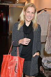 HANNELI RUPERT at a preview of the Hockley Autumn -Winter 2013/2014 Collection at Hockley, 20 Conduit Street, London on 26th November 2013.