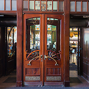 Entrance Doors At Eliseevsky Retro Store, St.-Petersburg