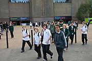 Londyn, 2009-10-23. Tate Modern - jedna z najbardziej prestiżowych galerii sztuki na świecie.
