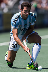 Augustin Bugallo of Argentina during the Champions Trophy finale between the Netherlands and Argentina on the fields of BH&BC Breda on Juli 1, 2018 in Breda, the Netherlands.