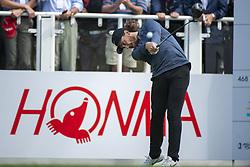 November 22, 2018 - Hong Kong, China - A photo showing England Golf Player Tommy Fleetwood during a match in the Honma Hong Kong Open 2018 in Hong Kong, China. 22 November 2018. (Credit Image: © Harry Wai/NurPhoto via ZUMA Press)