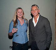 BETH MCLOUGHLIN; GARY LINEKER, Walkers party to launch 15 new flavours of crisps. Orchid, Coventry St. Leicester Sq. London.  29 March 2010