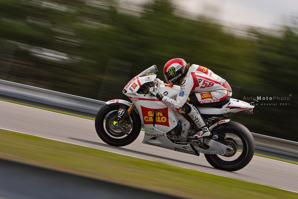 2011 MotoGP World Championship, Round 11, Brno, Czech Republic, 14 August 2011, Marco Simoncelli