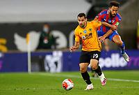 2019 / 2020 Premier League - Wolverhampton Wanderers vs Crystal Palace <br /> <br /> Jonny Otto of Wolverhampton Wanderers and Andros Townsend of Crystal Palace at Molyneux.<br /> <br /> Credit COLORSPORT/LYNNE CAMERON