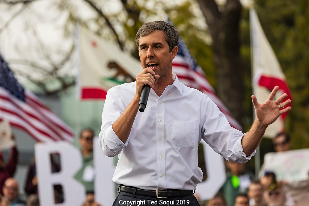 Democratic presidential candidate hopeful Beto O'Rourke holds a campaign rally in Los Angeles.<br /> Los Angeles, CA USA 4/27/2019<br /> Photo by Ted Soqui
