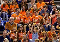 01-06-2014 NED: WLV Nederland - Zuid Korea, Eindhoven<br /> Oranje support publiek