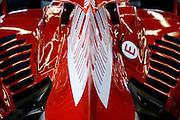 December 3-4, 2016: Ferrari Finali Mondiali, F1 car detail, F2008
