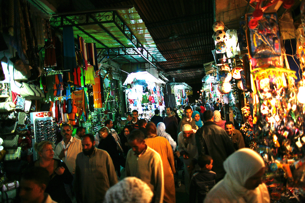 Marrakesh, Morocco. October 9th 2008..In the souk