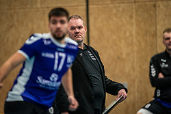 Trainer/coach Arjen Schimmel of Vocasa in action during the first league match in the corona lockdown between Talentteam Papendal vs. Vocasa on January 13, 2021 in Ede.