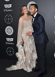 The Art of Elysium's 11th Annual Heaven Gala. Barker Hanger, Santa Monica, CA. Pictured: Travis Mills and Madelaine Petsch. EVENT January 6, 2018. 06 Jan 2018 Pictured: Chrissy Teigen,John Legend. Photo credit: AXELLE/BAUER-GRIFFIN/MEGA TheMegaAgency.com +1 888 505 6342