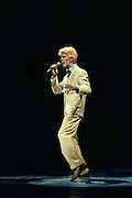 Davie Bowie during the Serious Moonlight Tour Madison Square Garden 1988.